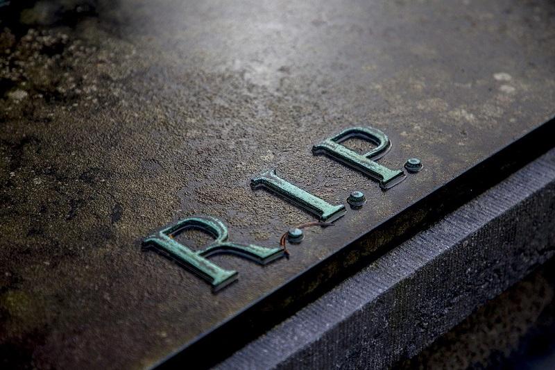 Nagrobnik - napis